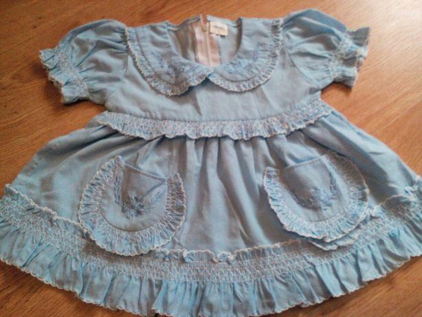 Нарядное платье девочке 1-2года