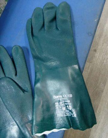 Акция! Перчатки,рукавици ПВХ рабочие CERVA PETREL
