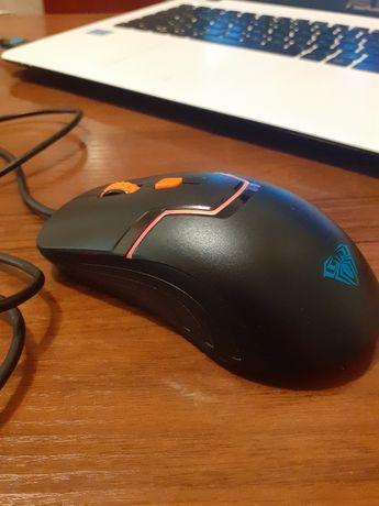 Мышка проводная светодиодная AULA RIGEL