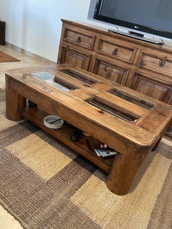 Mesa de centro madeira mexicana