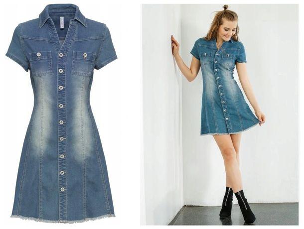 Sukienka jeansowa BONPRIX rozm. 38