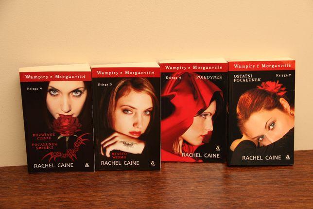 Seria książek Wampiry z Morganiville Rachel Caine 4 tomy