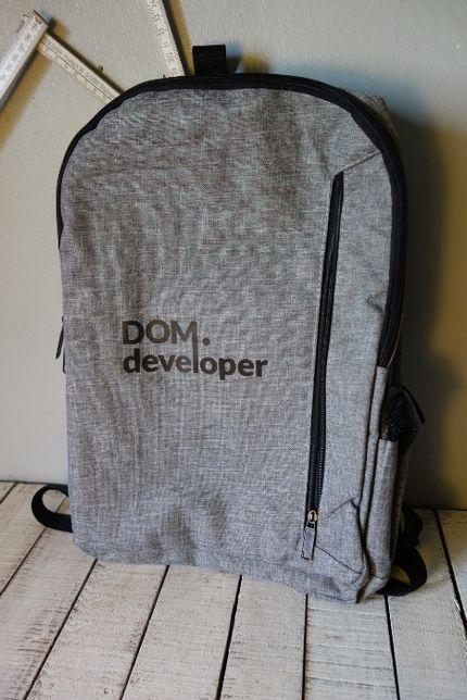 nowy z metkami pojemny pakowny plecak
