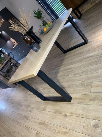Nowoczesny stół dębowy styl loft na zamówienie hit