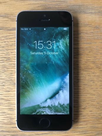 Apple iphone 5s se special edition space gray 32gb