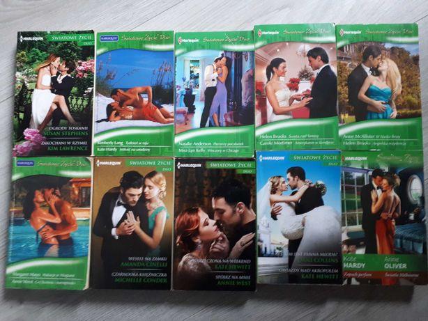 Książki romanse pakiet 10 książek DUO