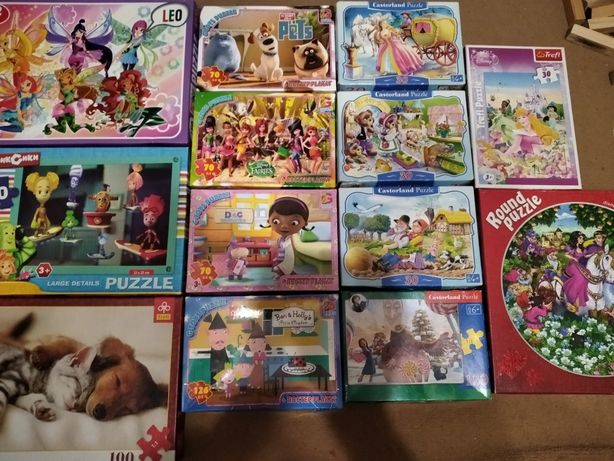 Пазлы G-toys, Castorland, Trefl, Leo, Danko toys