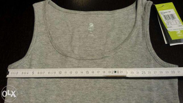 Koszulka T-shirt bluzka top szara Adidas Neo oryginalna
