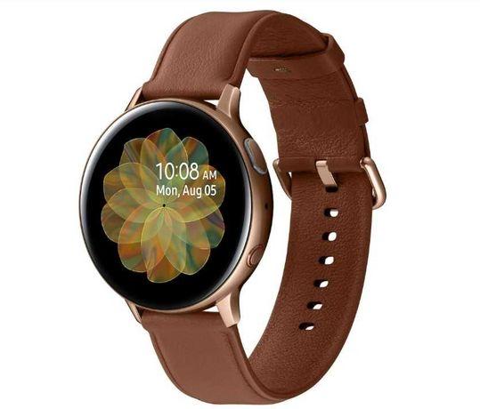Smartwatch zegarek samsung galaxy active 2 złoty  LTE 44mm wodoodporny