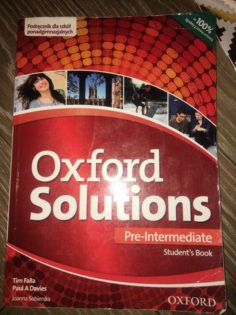 Książka oxford solutions łeee-intermediate