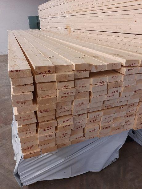drewno konstrukcyjne na domy szkieletowe C24 45x120x6000 świerk skand.