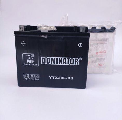 Аккумулятор Dominator YTX20L-BS, 12V20A; цена 1100 грн
