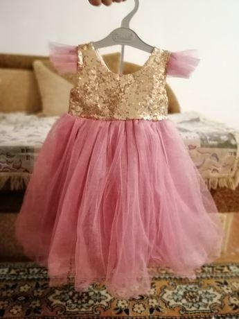 Платье принцессы на 1- 2 года