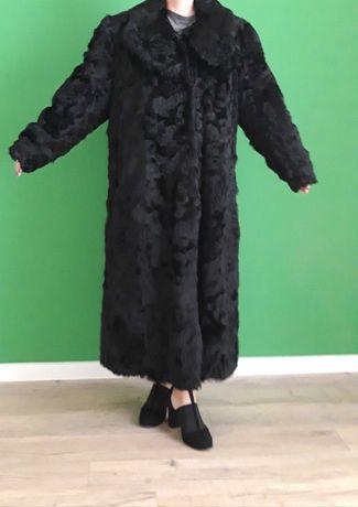 Продам шубу черную размер 52-54