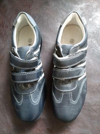 Туфлі-кросівки, 37р, нові, шкіра.