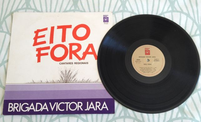 """Disco Vinil """"Brigada Victor Jara – Eito Fora"""""""