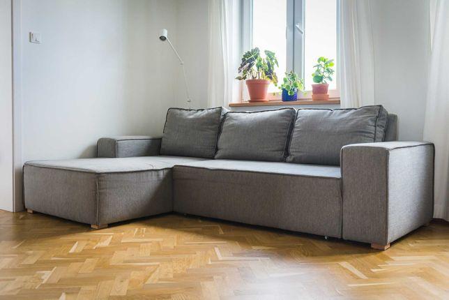 Narożnik kanapa z funkcją spania - Scandic Sofa Tulpaner