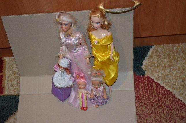 Набор кукол(одни принцессы)
