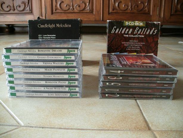 Golden Ballads em CD 13 cds estão novos