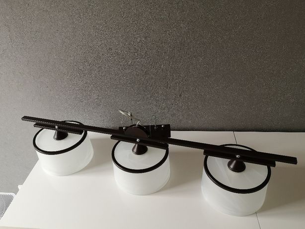 Potrójna lampa do salonu/kuchni, WARTO!