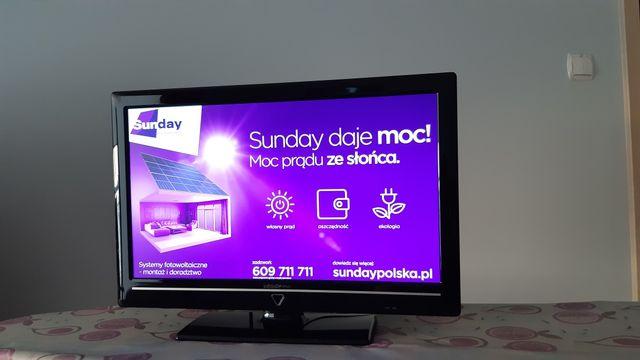 "Telewizor Medion 21,5"" led, dvbt"