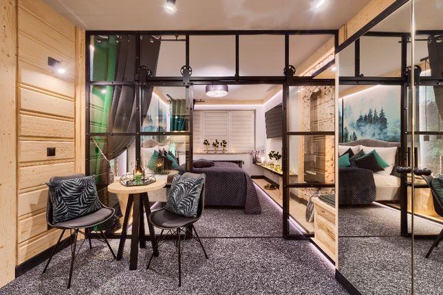 Apartament z jacuzzi Leśne Spa centrum