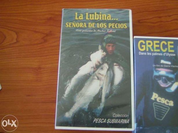 Cassete VHS Pesca submarina