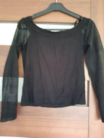 Bluzka siatka czarna