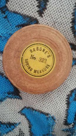 John Rabone & Sons fita métrica vintage de birmingham Inglesa