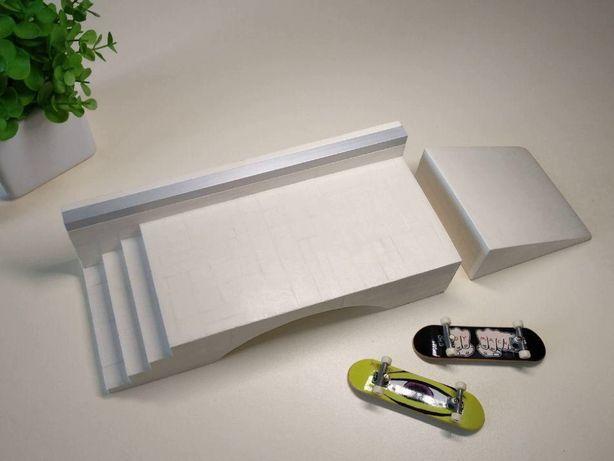 Фигура для фингерборда, фингер самоката Stairset Square & Kicker