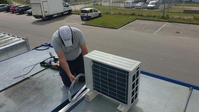 Klimatyzacja GREE, LG, ROTENSO I SAMSUNG. Sprzedaż z montażem, serwis.