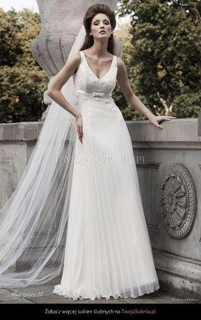 Suknia ślubna Margarett Nimfa r. 38 ivory