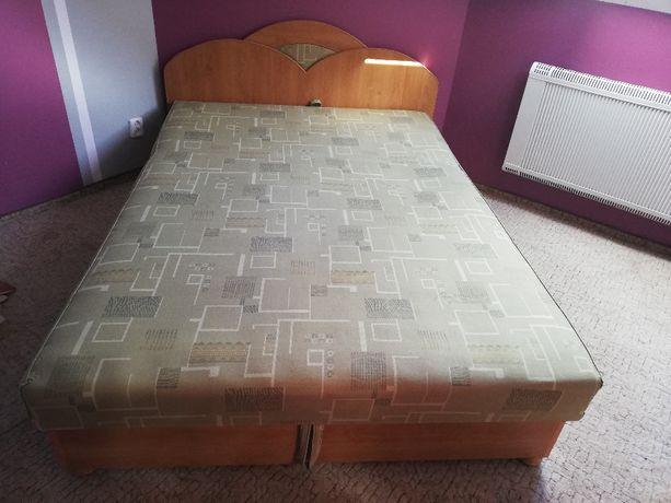 Łóżko z pojemnikiem na pościel 200x160 cm