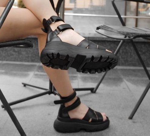 Кожанные сандали. Летние босоножки. Ручной работы(новые)