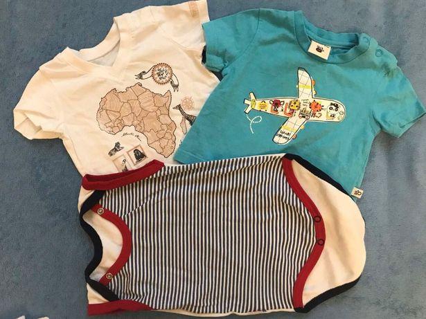 новые футболки и песочник