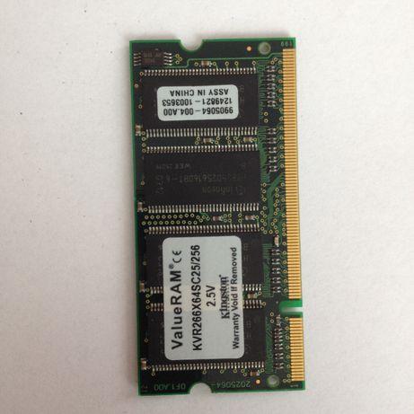 Pamięć RAM 256 MB do laptopa