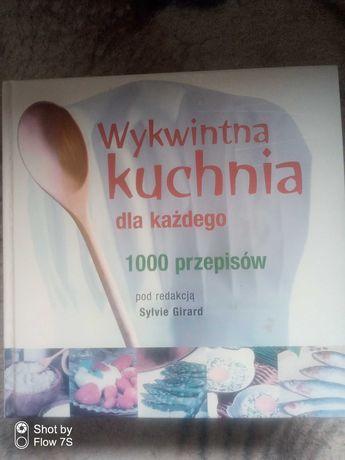 Książka kucharska Wykwintna kuchnia dla każdego