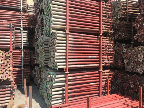 Stempel budowlany używany, metalowy, regulowany Podpora Dźwigar H20