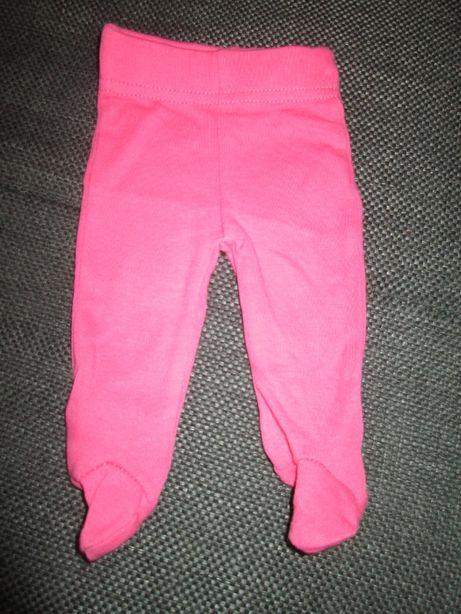 Spodnie półśpiochy ciemnoróżowe r.50, stan idealny