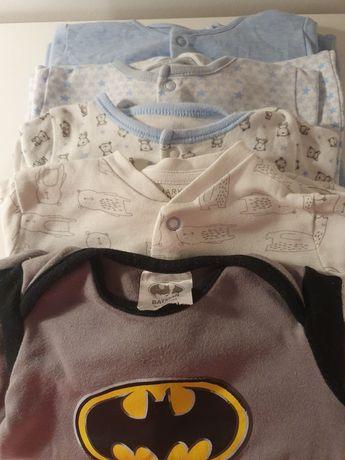 Mega paka ubranka niemowlęce 0-3mce 56-62