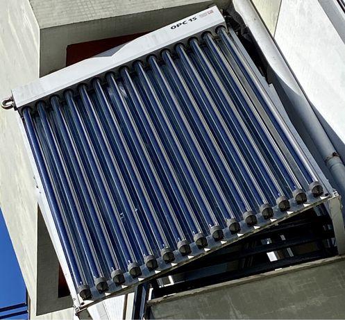 Panel Solar termico de Vacuo - Suiço - AMK-DRC10