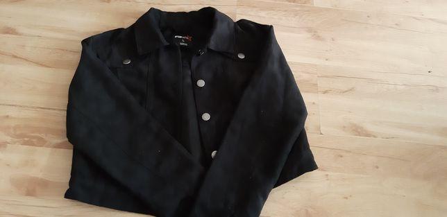 Zamszowa krótka kurtka  katana