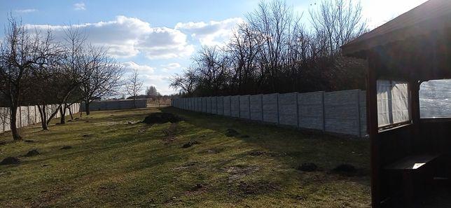 Ogrodzenie betonowe dwustronne. Szybkie terminy realizacji.