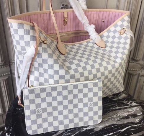 Torebka LV Louis Vuitton neverfull GM Monogram kratka