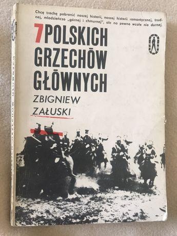 Zbigniew Załuski 7 polskich grzechów głównych