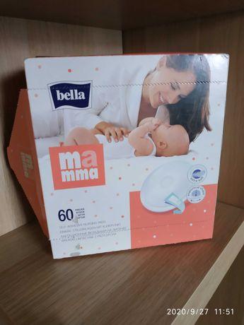 Wkładki laktacyjne białe Bella 60szt