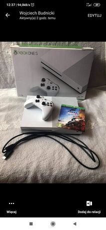 Xbox one s 1tb +far cry 5+forza horizon 4 na dysku