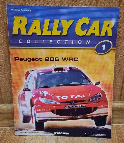 Журнал Rally Car Collection 1 Peugeot 206 WRC Ралли Пежо