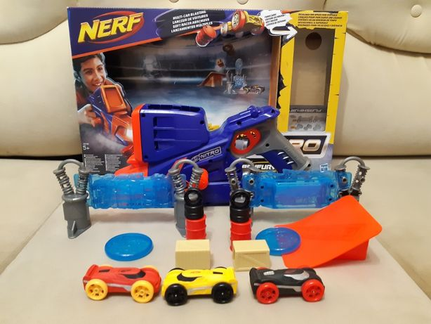 Бластер NERF Nitro Flashfury Chaos