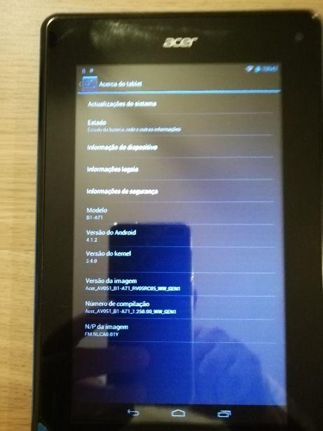 Tablet Acer Iconia B1 A71 8GB Wifi+GPS (com portes)